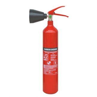 2kg CO2 fire extinguisher.