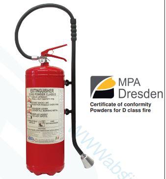 Class D Fire Extinguisher - 12 Kg